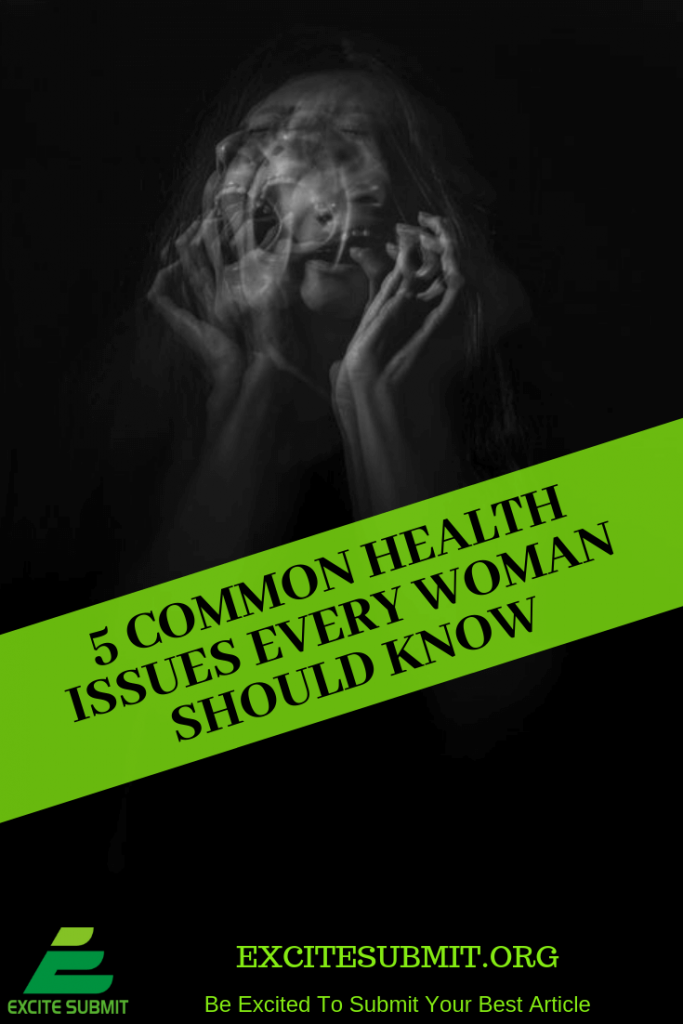5 Common Health Issues Every Woman Should Know