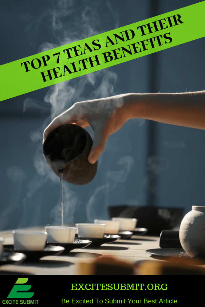 Top 7 Teas and Their Health Benefits