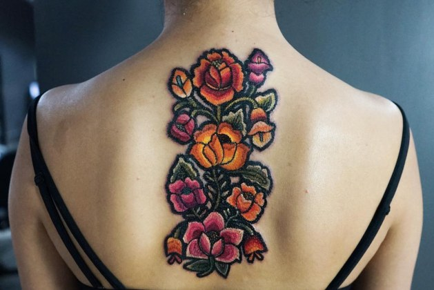 Individuals Are Now Getting Embroidery Tattoos, And They Look Pretty Cool