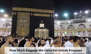 Umrah baggage Allowance You Carry from UK to Saudi Arabia?
