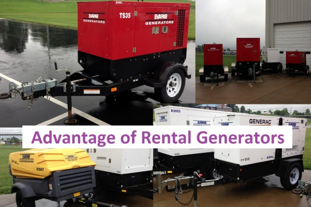 A Rental Generator Could Be So Beneficial!