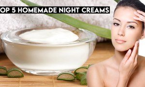 Top 5 Homemade Night Creams To Get Glowing Skin