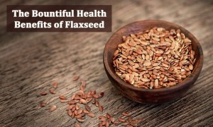 The Bountiful Health Benefits of Flaxseed